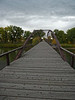 3614 - Old Army Bridge over the Platte River - Wyoming