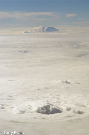 Mount Ranier, view courtesy of Delta Airlines.