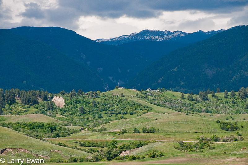 Front Range near Boulder.