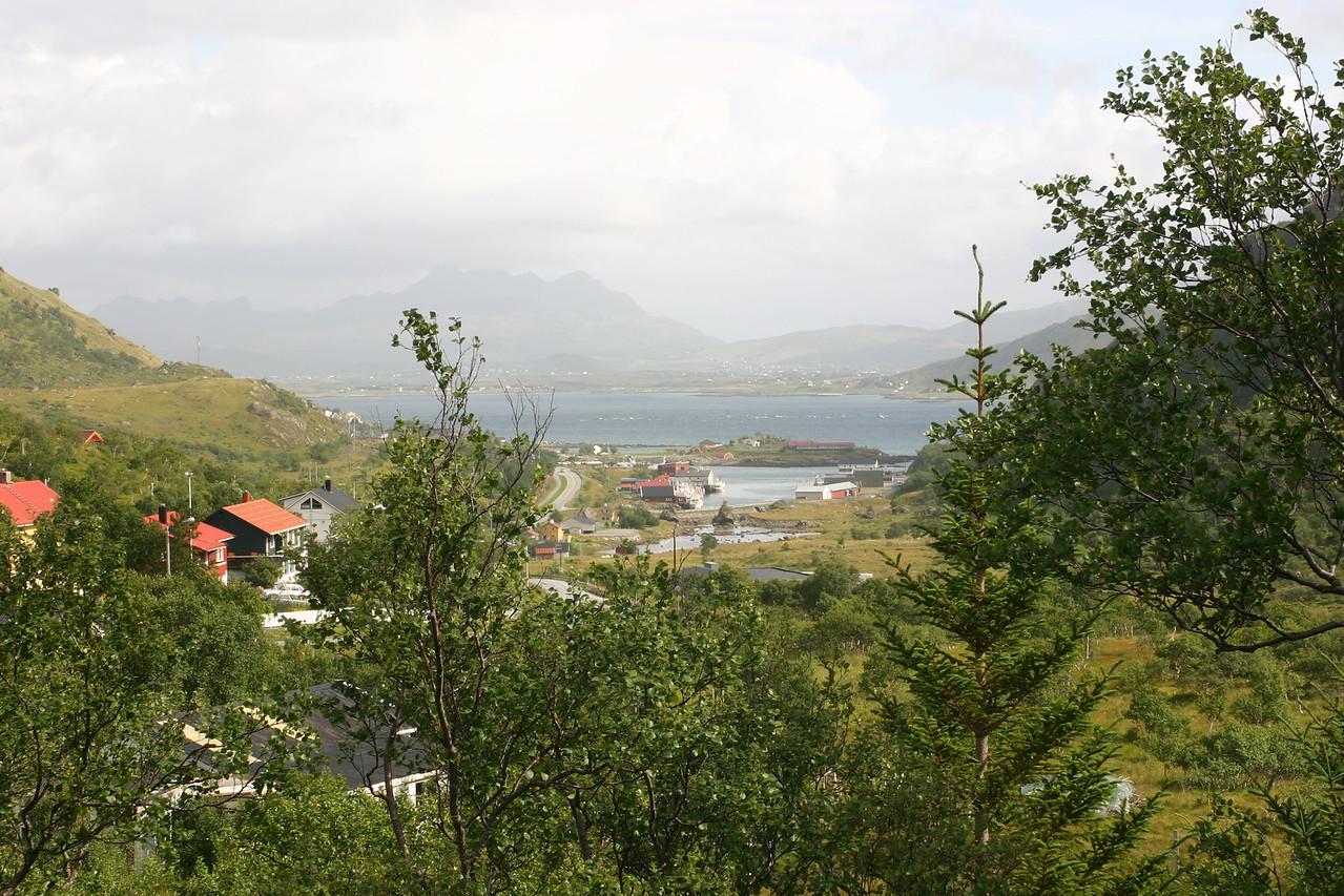 de Ramberg à Svolvær