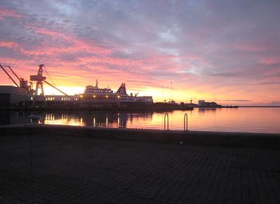Frederikshavn (Danemark) au petit matin