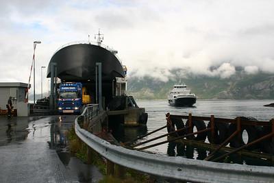 Ferry pour Vega