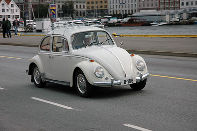 VW beetle at Bergen