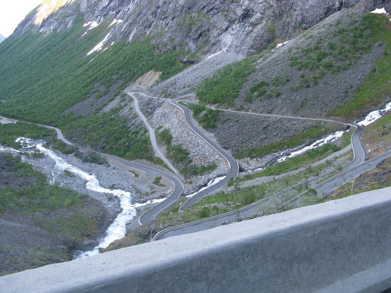 Part of the Trollstigen road
