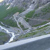 Part of the Trollstigen road