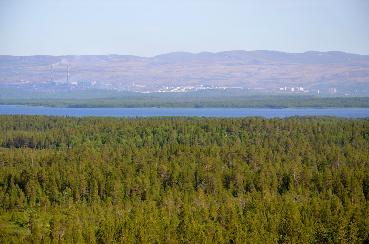 Nikel, Russia as seen from Svanvik
