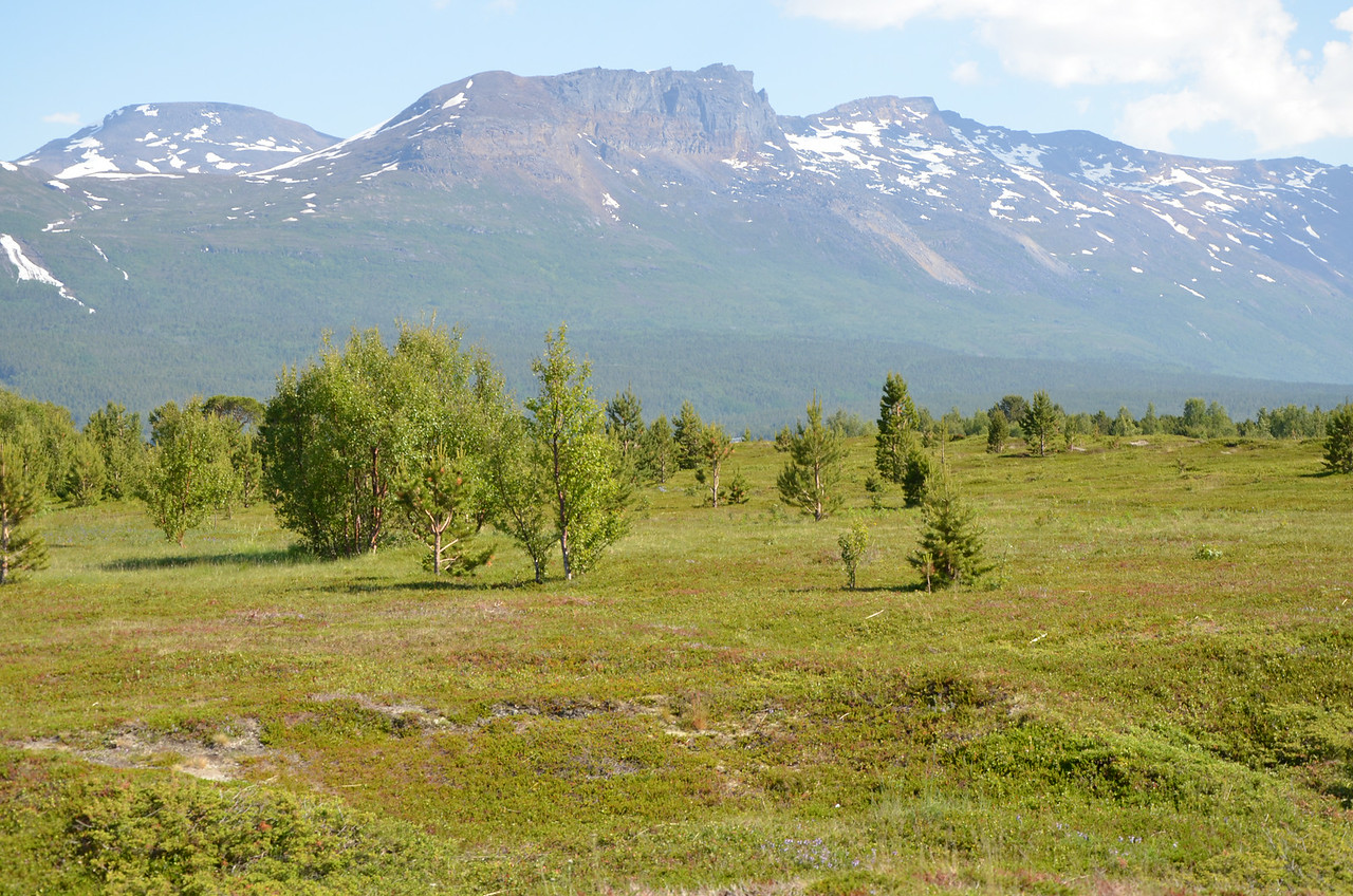 near Lyngen Fjord