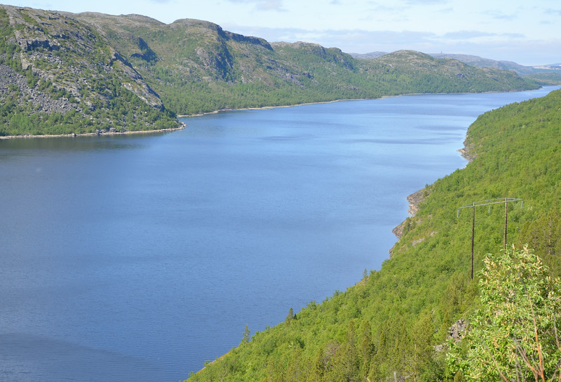 south of Kirkenes
