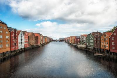 Trondheim canal