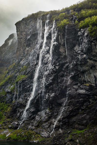 The Seven Sisters falls, Geirangerfjord