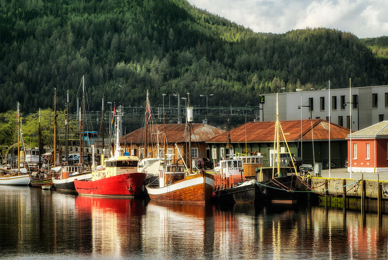 Boat canal, Trondheim