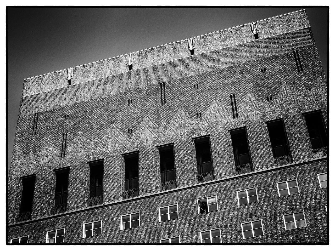 Brick Detail Oslo City Hall