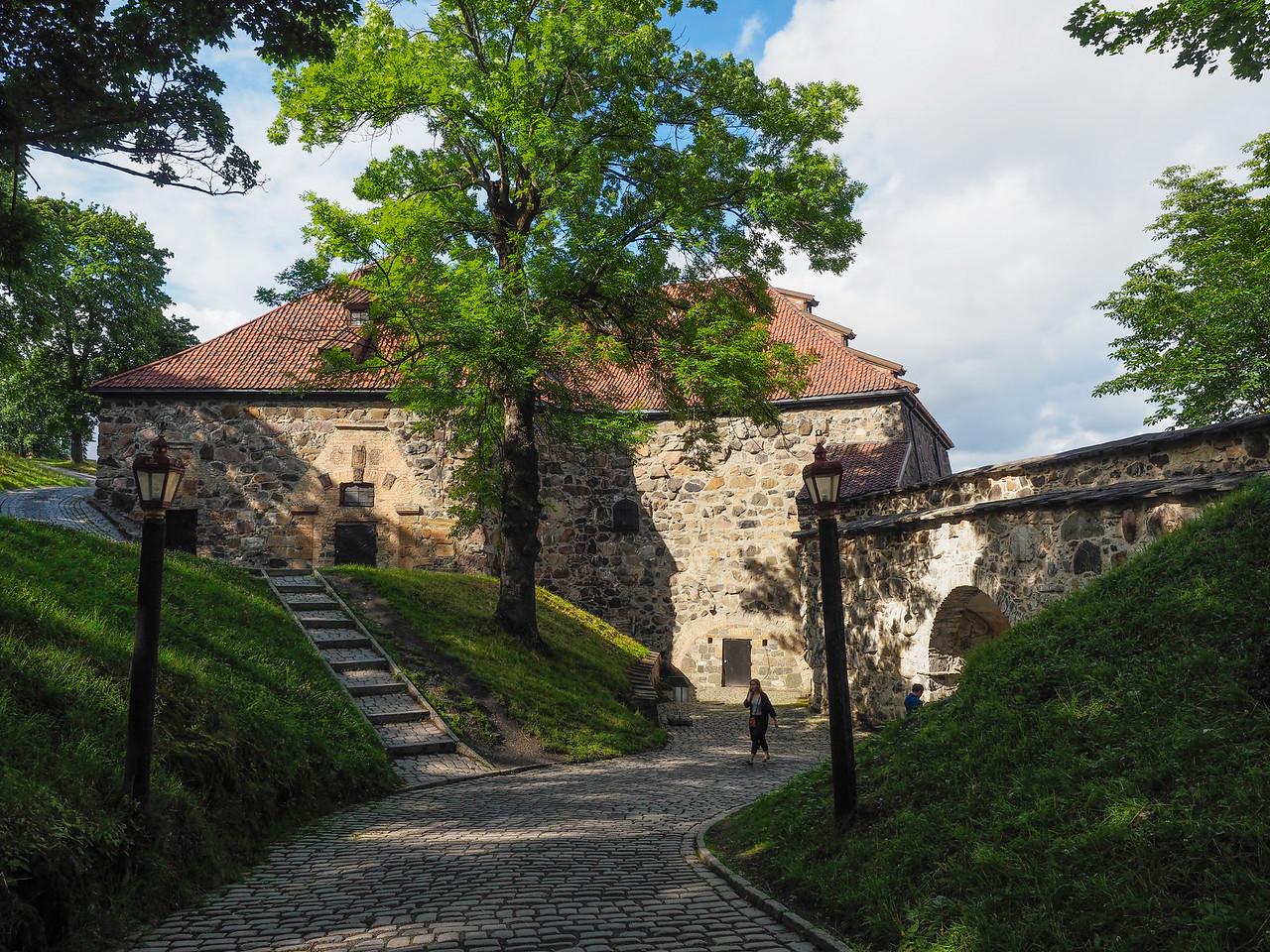 1657 Building Inside Akershus Fort, Oslo