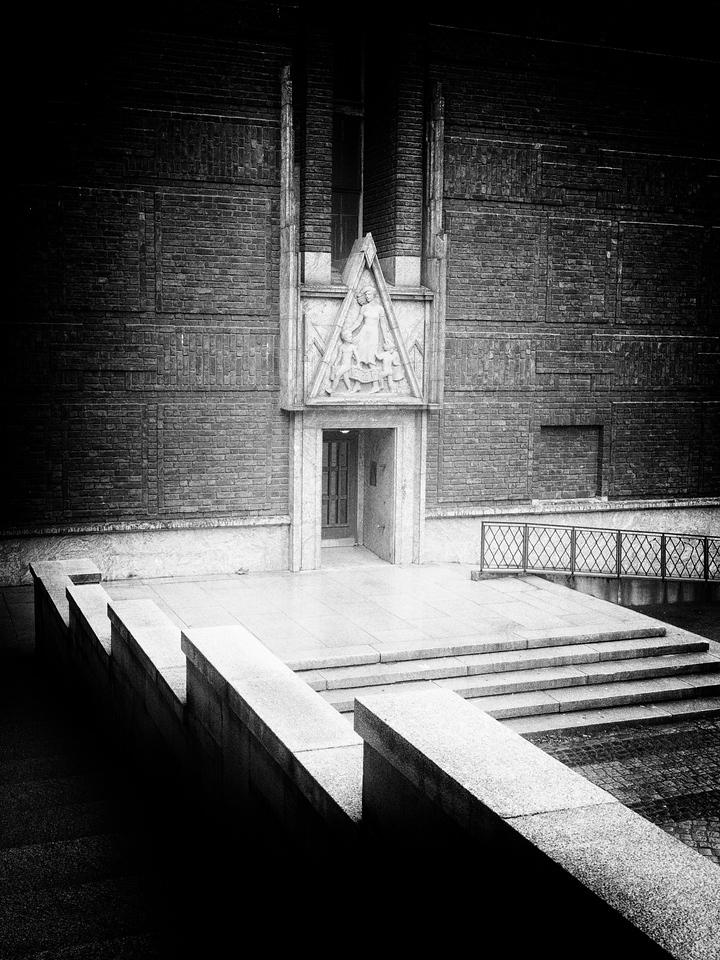 Side Entrance Oslo City Hall