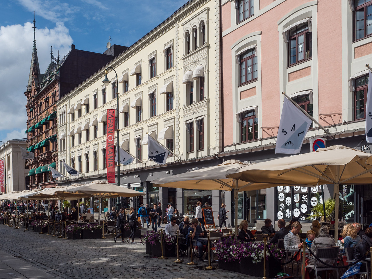 Resturants on Karl Johns Gate, Oslo