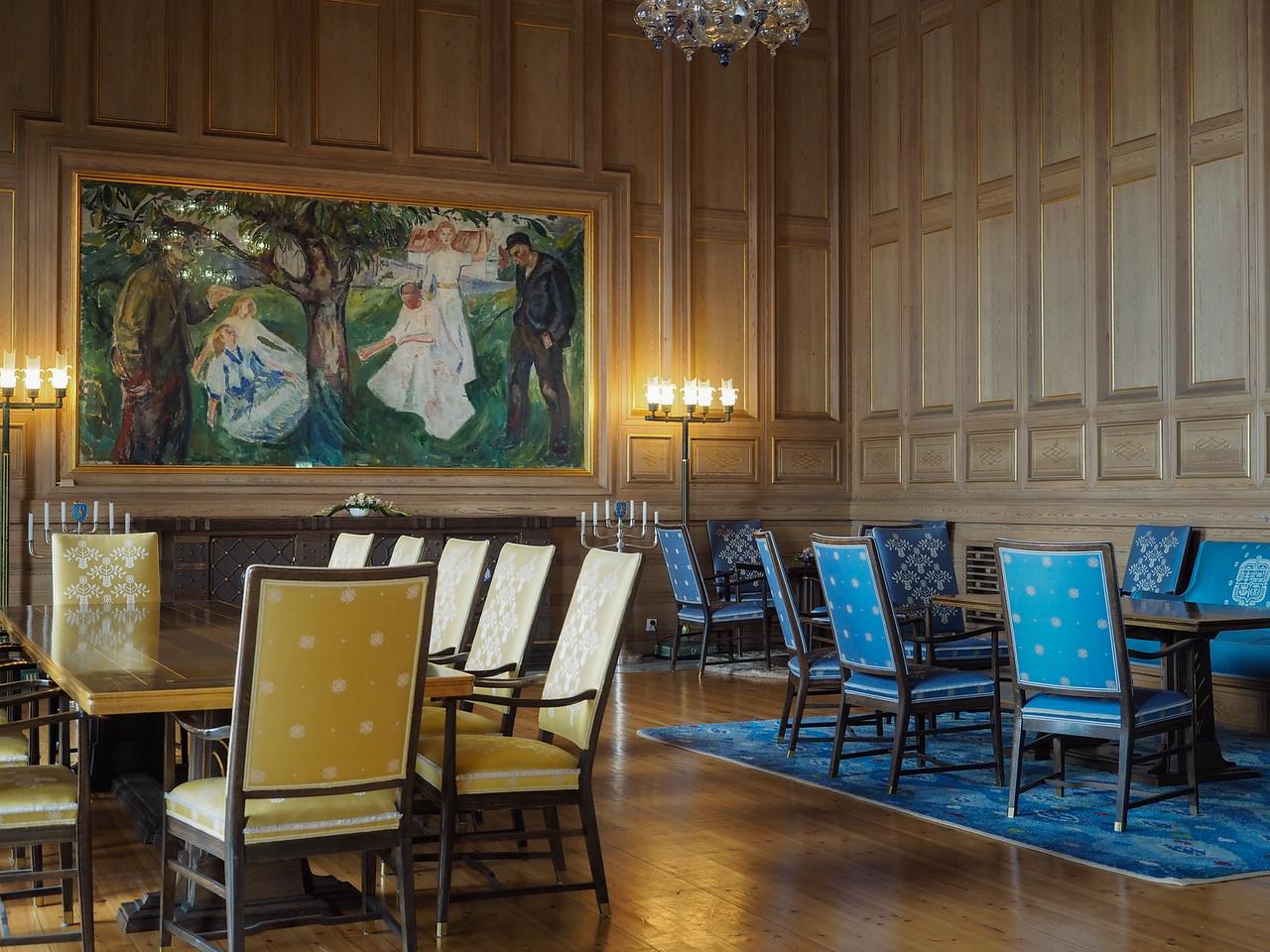 Edvard Much Room, Oslo City Hall