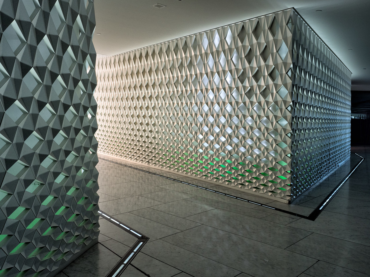 Interior Oslo Opera House
