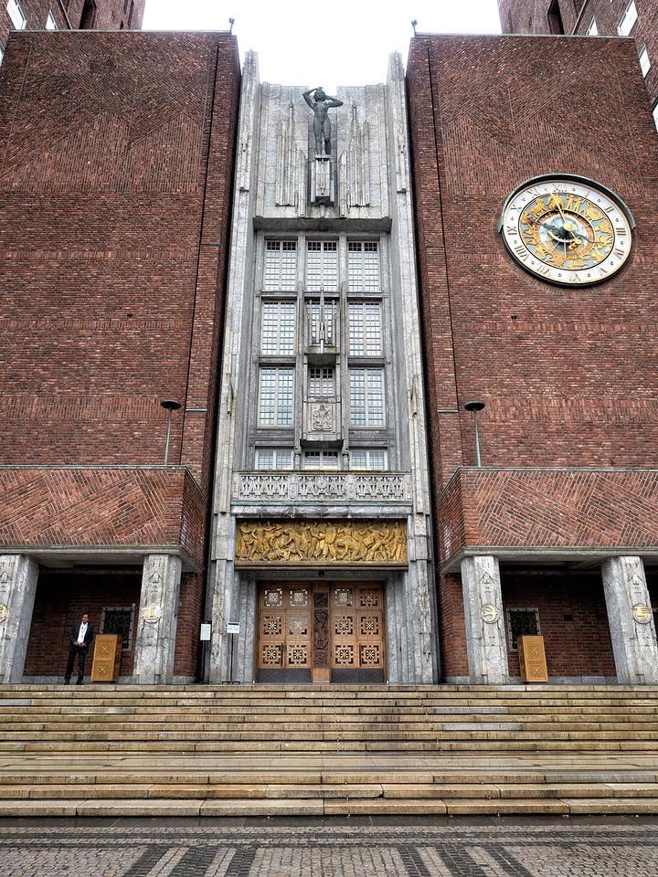 Main Entrance Oslo City Hall (1950)
