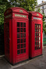 UK red telephone boxes