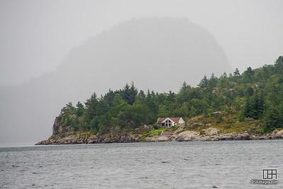 View from Høgsfjorden