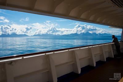 Cruising into the Artic Circle