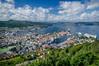 Norway 1 496 Bergen from Mt Floien