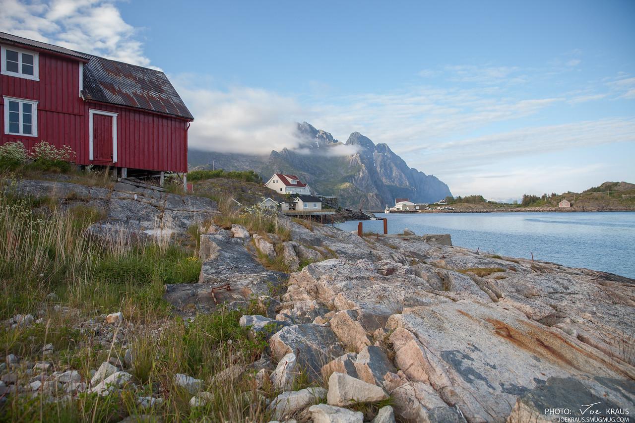 The shores of Henningsvær