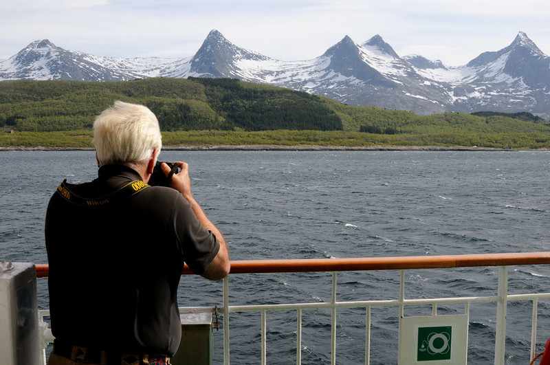 The Seven Sisters (and one brother!) Norway.