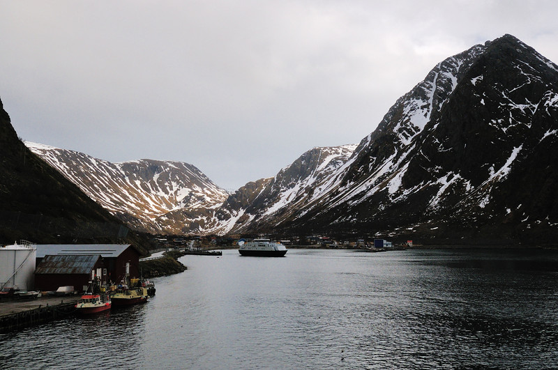 Øksfjord, Norway.