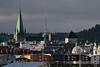Trondheim before the rain, Norway.