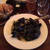 Cafe Skansen. Not far from The Park Inn. Dinner with Jim & Sue McCarthy. Mostly mussels. 10 May 2017.