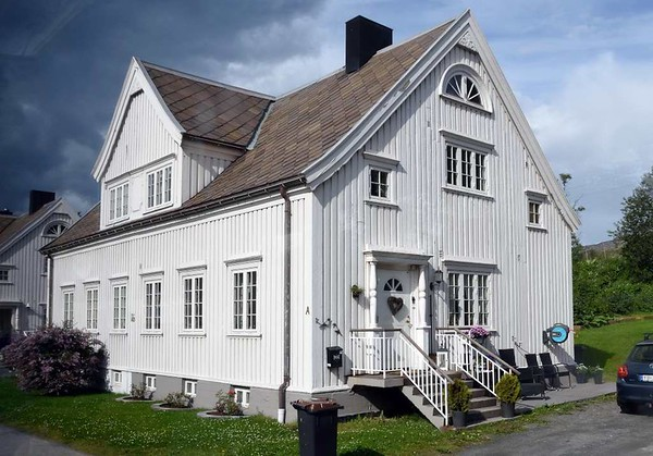 Narvik, 23 July 2015 3.  Traditional wooden house.