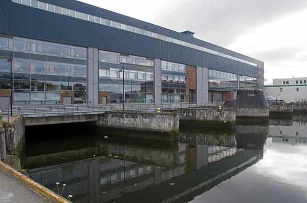 Former U-boat pens, Trondheim, 21 July 2015 1.