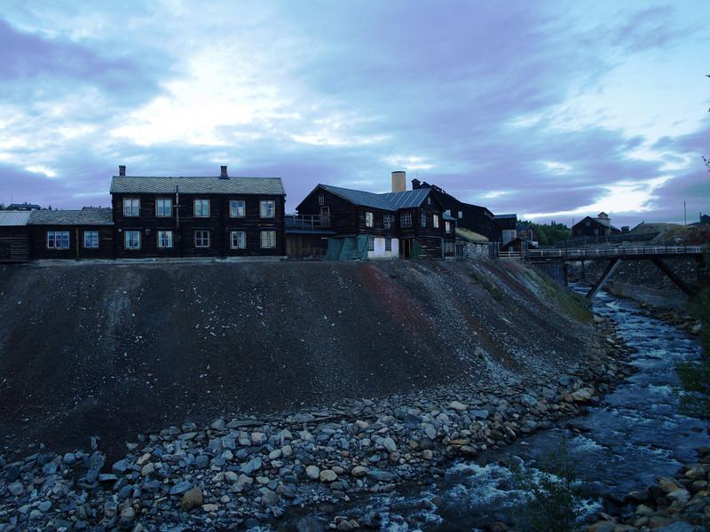 Las minas de cobre en Roros
