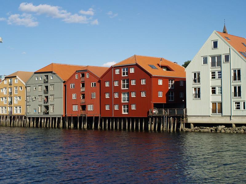 Casas de madera de Trodheim