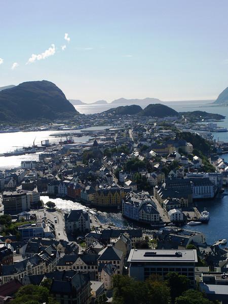 Vista sobre Alesund