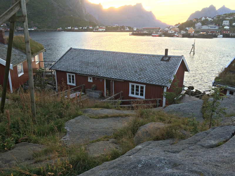 Our cabin at Reine Rorbuer