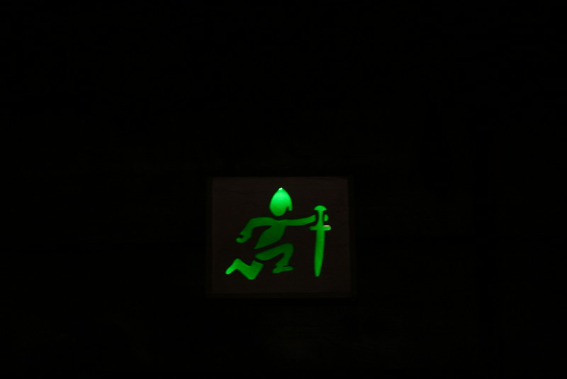 Viking Exit Sign