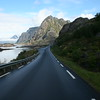 The road out of Henningsvaer