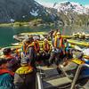 Launching Kayaks Nordfjord