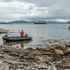 Going ashore in Tysfjord