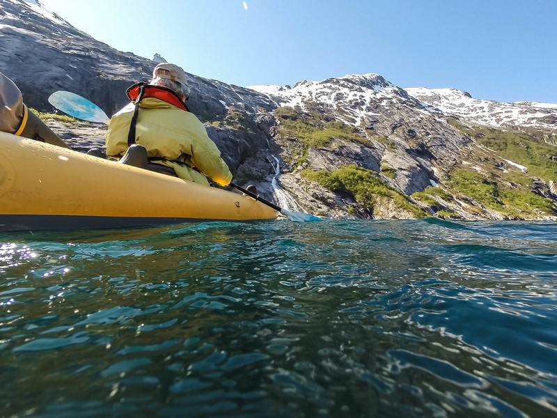 Kayaking in Nordfjord
