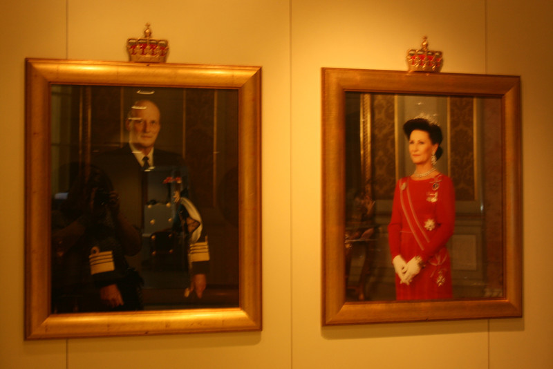Norwegian King Harald V and Queen Sonja Haraldsen.