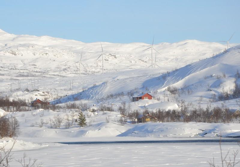 Outside Narvik, en route to Abisko