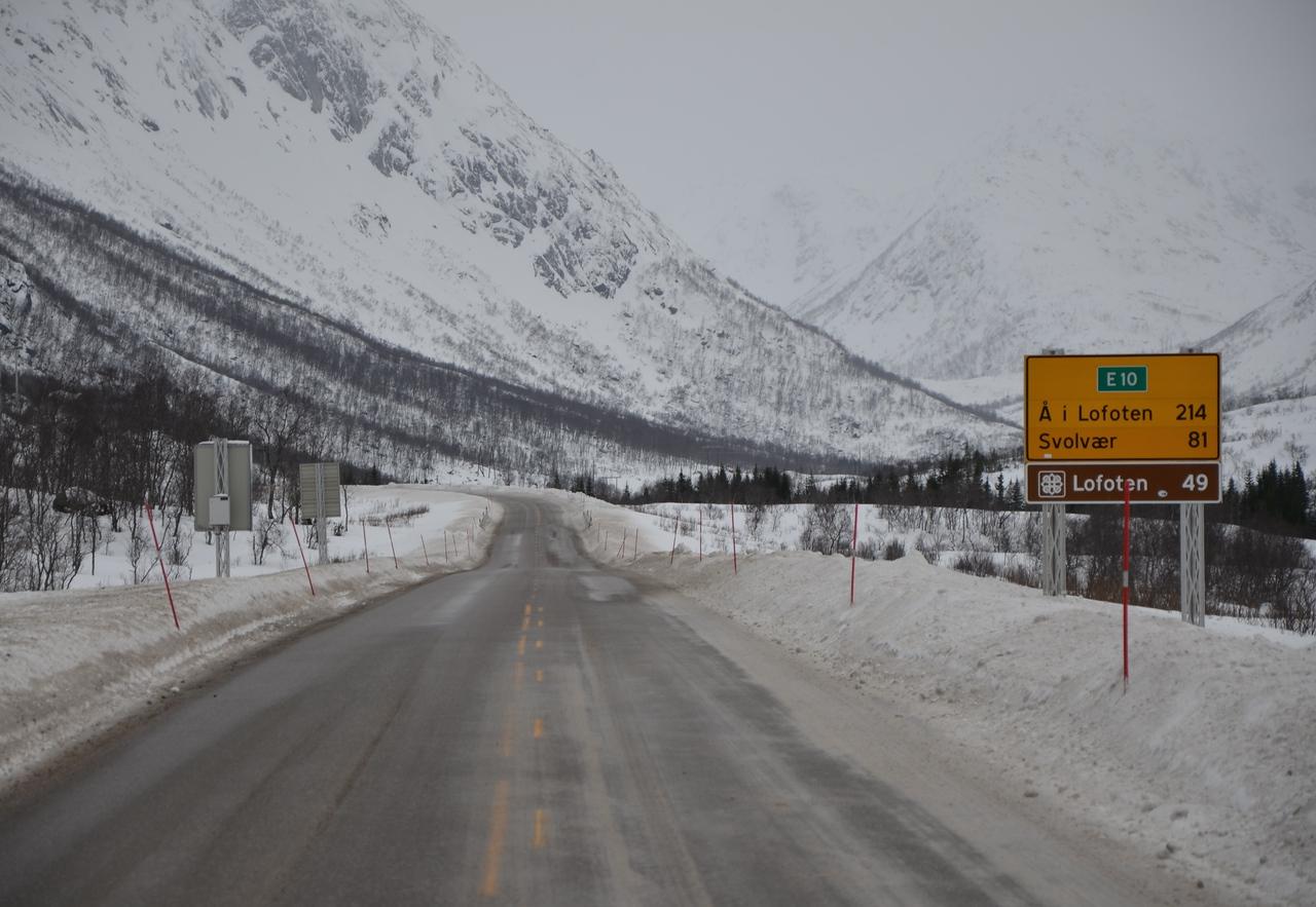 The road to Lofoten