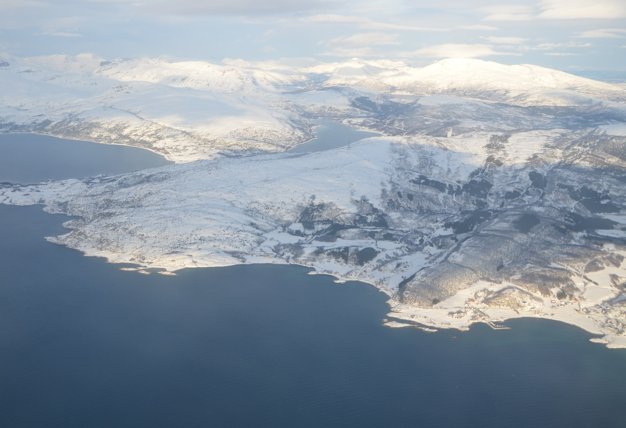 Flight from Narvik to Oslo