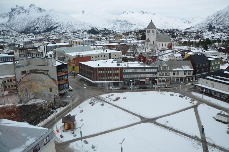 Svolvaer, Lofoten - view from hotel