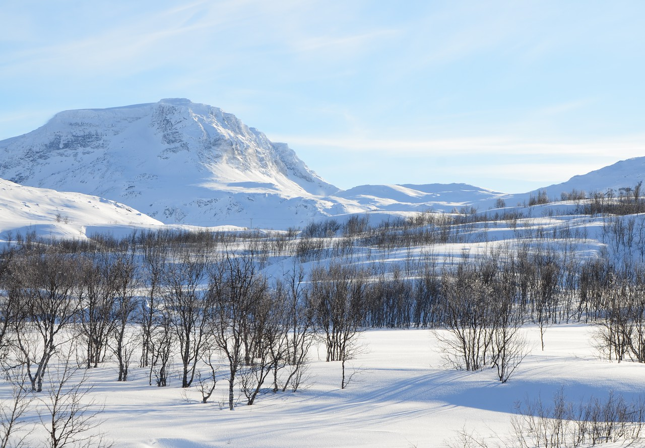 En route to Abisko--this might be Sweden