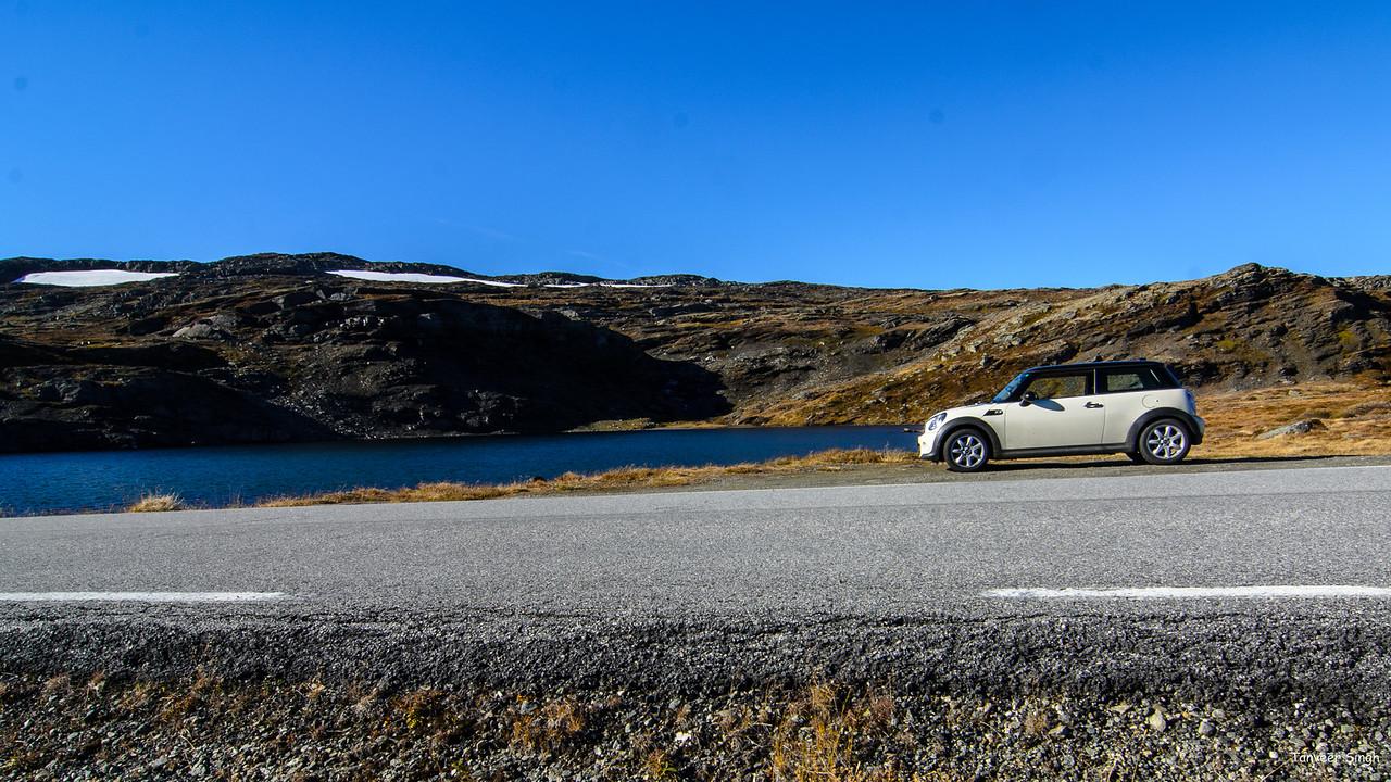 Taken at Latitude/Longitude:60.998772/7.332340. 7.63 km South Kvignadal Sogn og Fjordane Norway  (Map link)