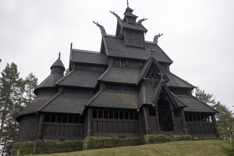 Stave Church, from about 1200 AD